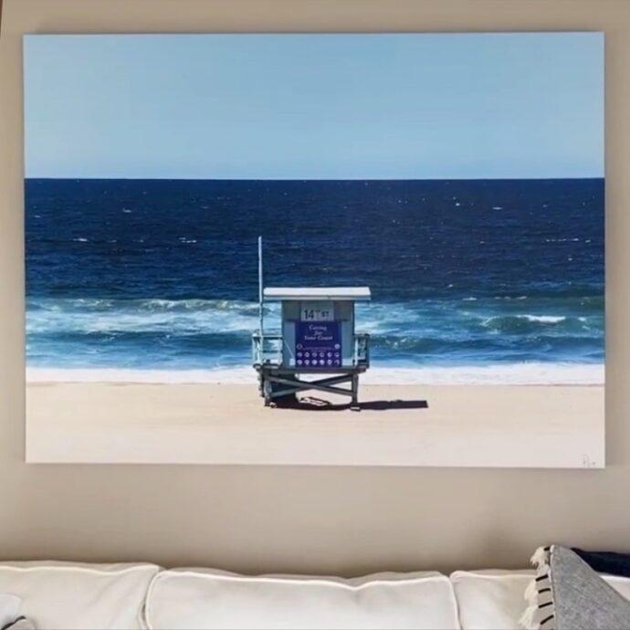 Framed Canvas Photograph